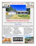Oregon City Homes, Oregon City Real Estate